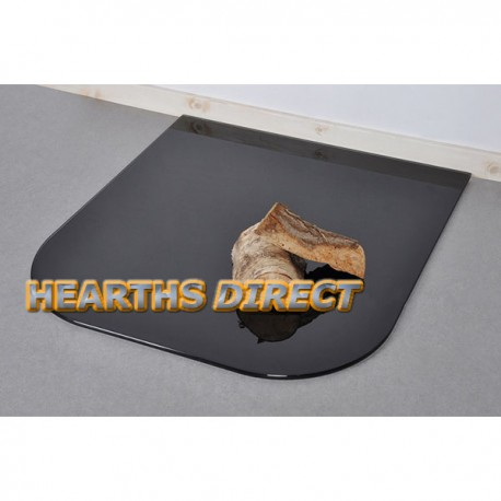 Small Standard Painted Glass Hearth