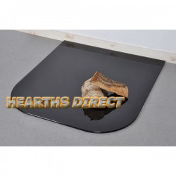 Medium Standard Painted Glass Hearth