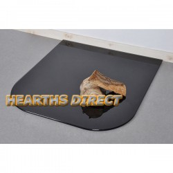 Large Standard Painted Glass Hearth
