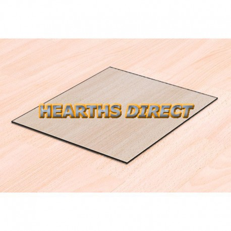 Rectangular Glass Hearth