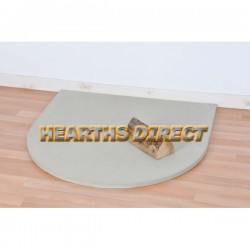Small Semi-Circle Beige Sandstone Hearth