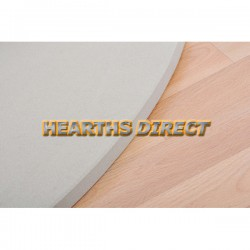 Large Semi-Circle Beige Sandstone Hearth
