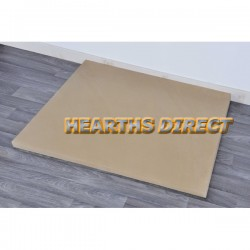 Square Beige Sandstone Hearth