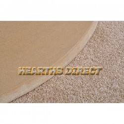 Small Semi-Circle Golden Sandstone Hearth