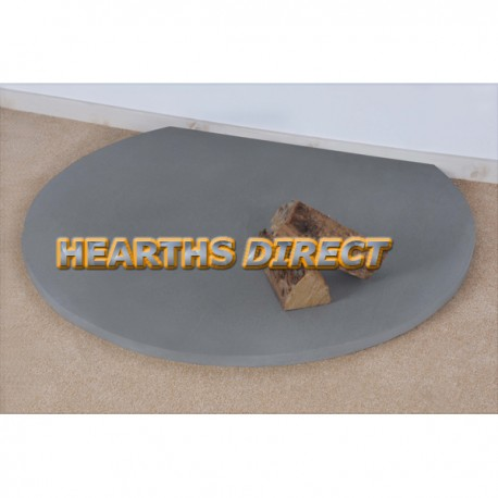 Truncated Grey Sandstone Hearth